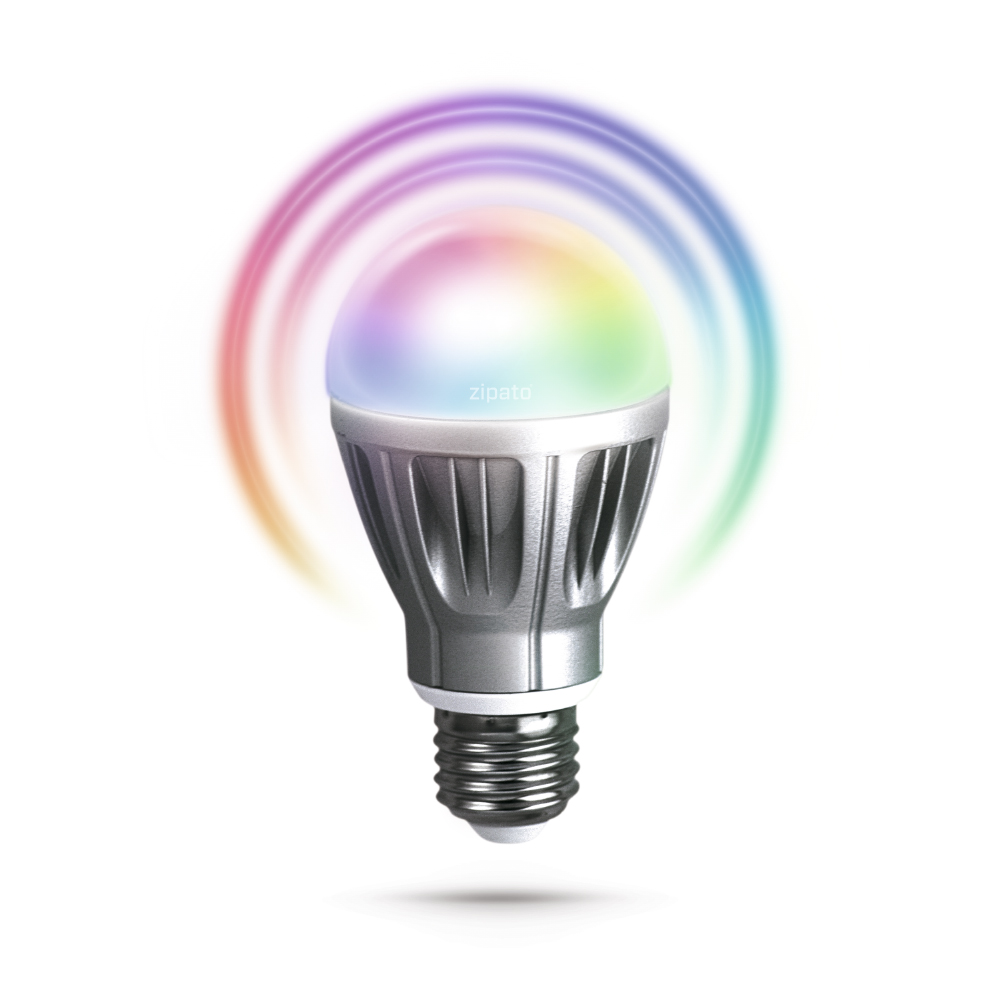 Zipato RGBW Bulb with Color Rings